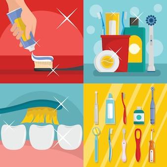 Brosse à dents dentaire