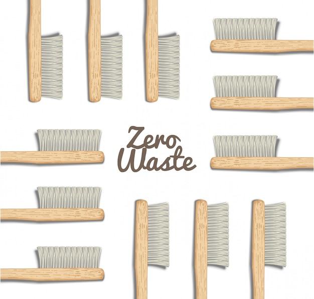Brosses à dents en bambou naturel