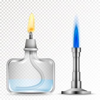 Brûleurs pour équipements chimiques