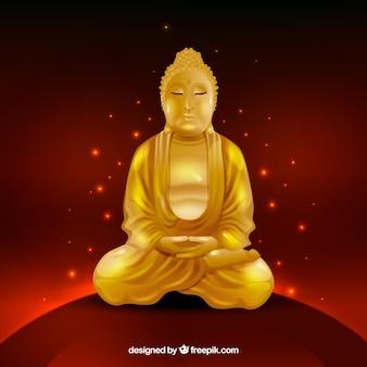 Budha traditionnel avec un style réaliste