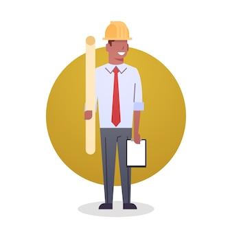 Builder man icon ingénieur métier arcitect