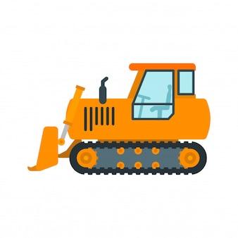 Bulldozer machinerie lourde
