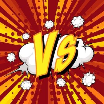 Bulle de dialogue comique vs libellé sur rafale