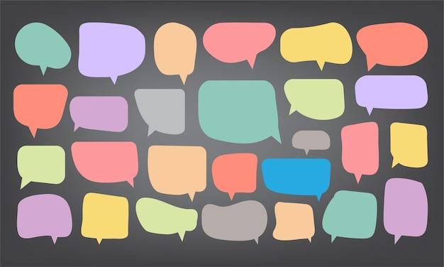 Bulle de dialogue modèle de conception de papier découpé illustration vectorielle pour votre entreprise