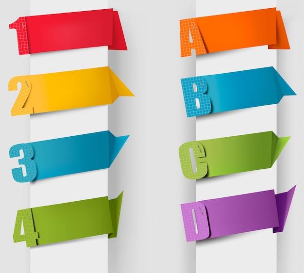 Bulle de dialogue origami abstrait avec des portées et des nombres