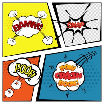 Bulles de bande dessinée