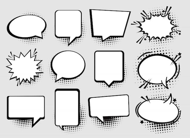 Bulles de parole ou de pensée