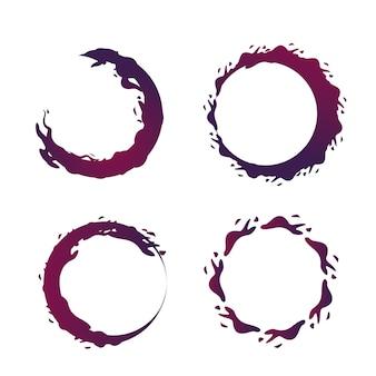 Bulles de vin icône image