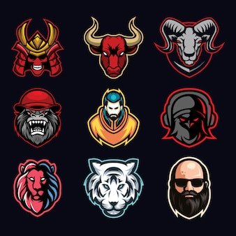 Bundle de logo esport