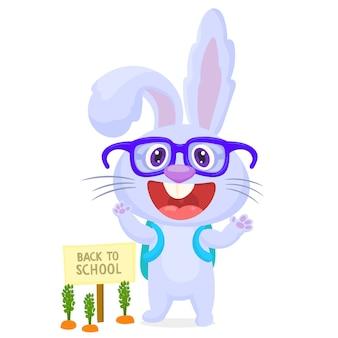 Bunny va à l'école