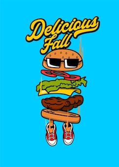 Burger d'automne