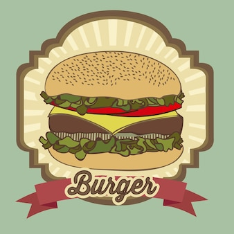 Burger vintage