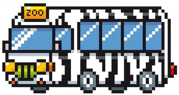 Bus de dessin animé zoo
