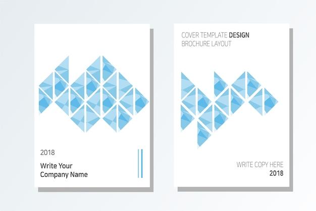 Business brochure design frais et style moderne