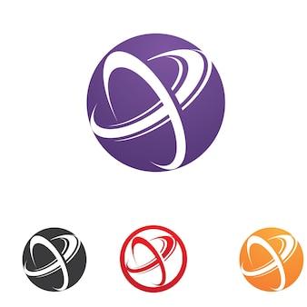Business finance logo template vecteur icône design