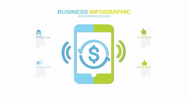 Business infographie design stock illustration infographie vector finance icône banque financier
