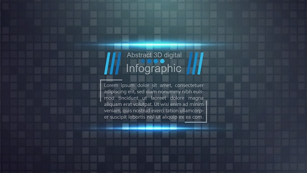 Business paper template - idée d'infographie