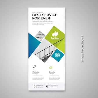 Business rollup x-banner