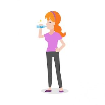 Buvez plus de coups de chaleur d'eau soins de santé médicaux