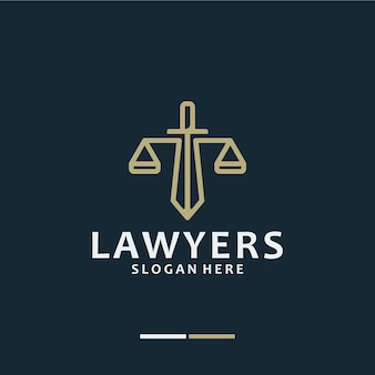 Cabinet d'avocats, avocat, inspiration de conception de logo