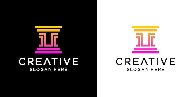 Cabinet d'avocats u création de logo