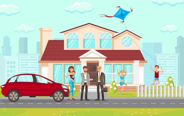 Cabinet de conseil plat en matière immobilière.