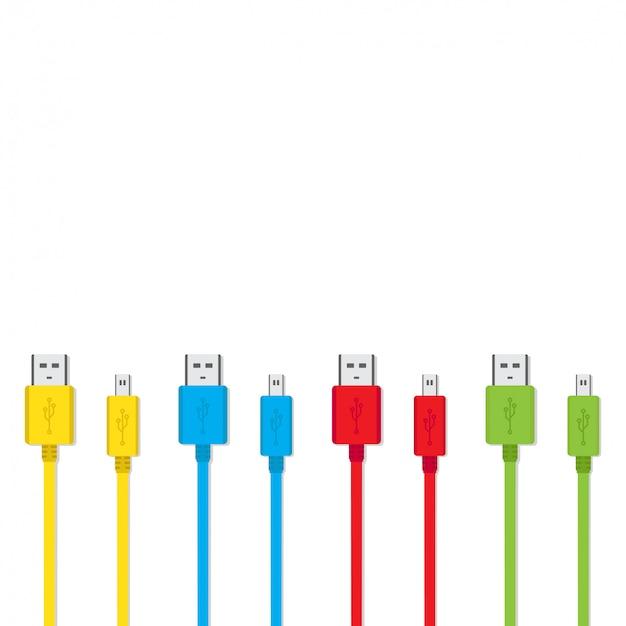 Câble de chargeur de smartphone