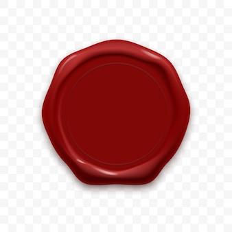 Cachet de cire sceau cachetage rétro étiquette