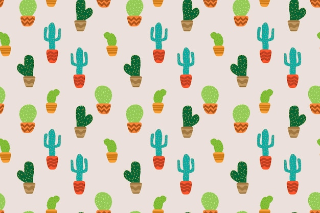 Cactus coloré en arrière-plan transparent. illustration vectorielle.