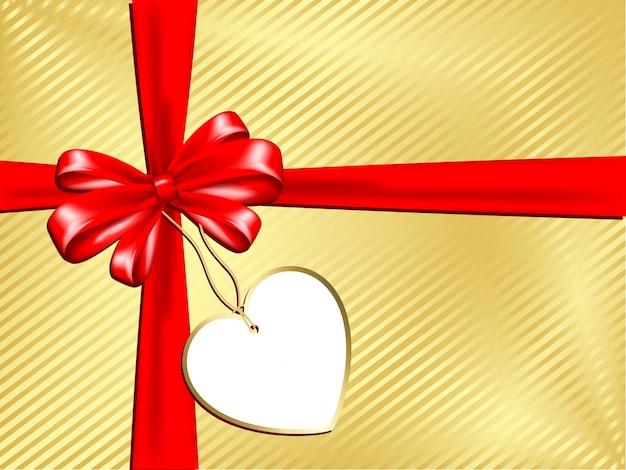 Cadeau avec étiquette
