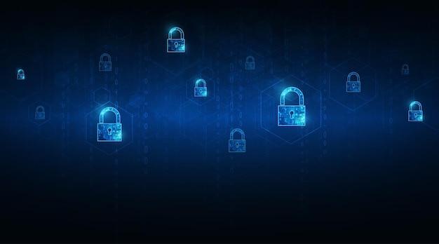 Cadenas avec clé sécurité des données personnelles