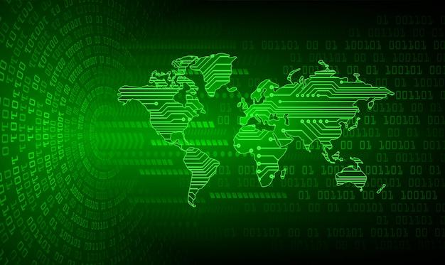 Cadenas fermé sur fond numérique, cyber-sécurité mondiale