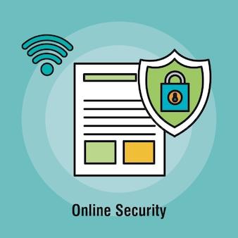 Cadenas de sécurité en ligne de document