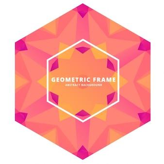 Cadre abstrait géométrique