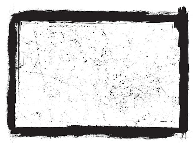 Cadre abstrait grunge