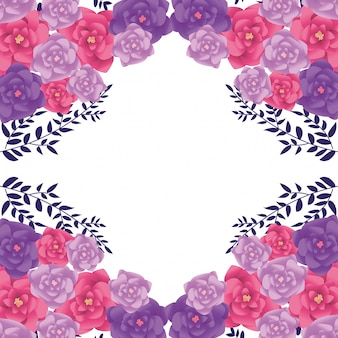 Cadre d'arrangement de fleurs