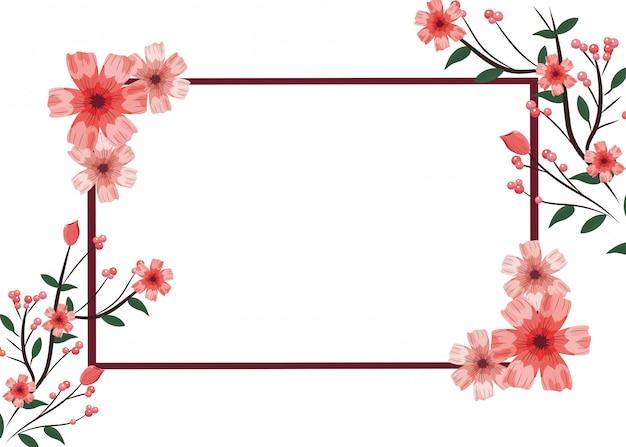 Cadre d'arrangement de roses