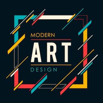 Cadre d'art moderne
