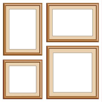 Cadre en bois carré