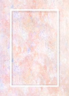 Cadre sur cadre de peinture pastel