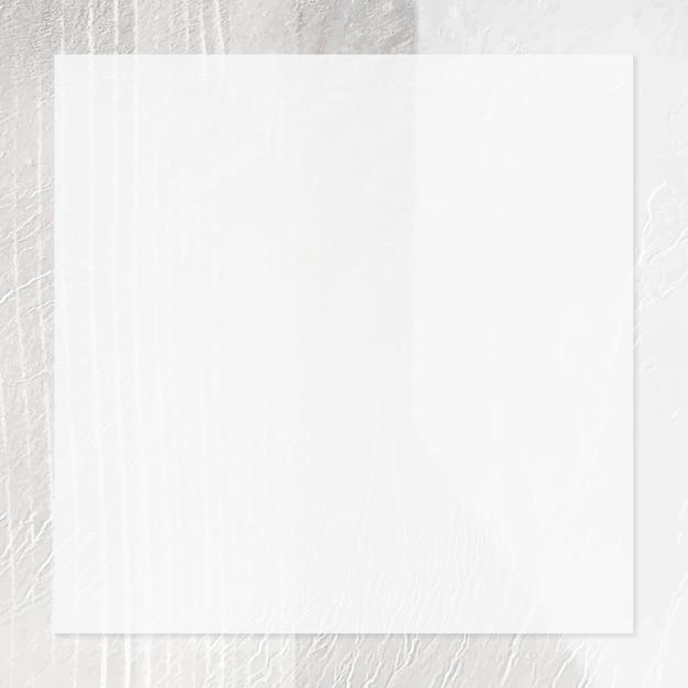 Cadre carré sur un modèle d'annonces sociales à fond texturé