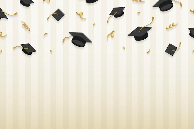 Cadre de chapeaux de graduation