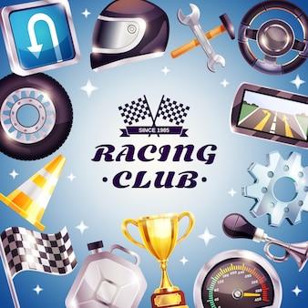 Cadre de club de course