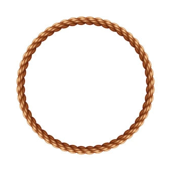Cadre de corde de cercle