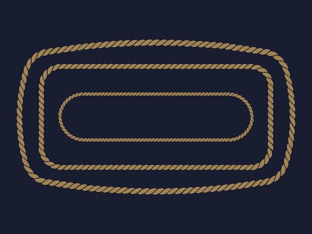 Cadre de corde