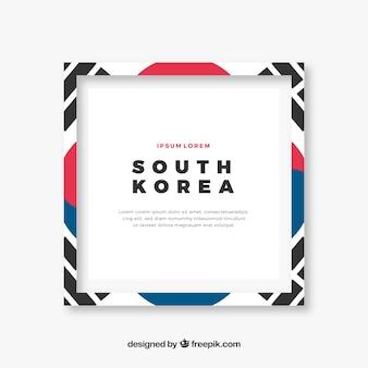 Cadre coréen du sud