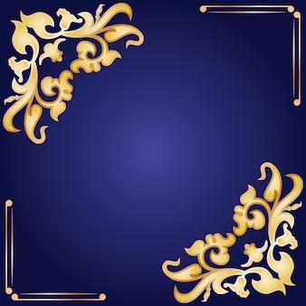 Cadre décoratif dans le style vintage.