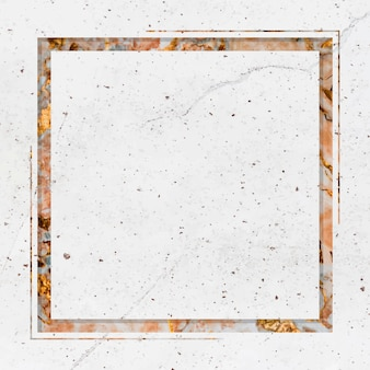Cadre de design en marbre