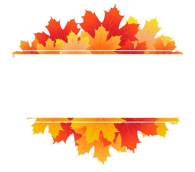 Cadre élégant d'automne / automne