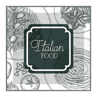 Cadre élégant victorien avec cuisine italienne